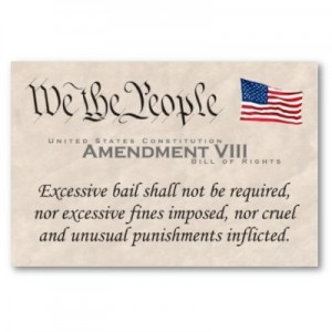 8thAmendment to the Constitution sets rights to bail