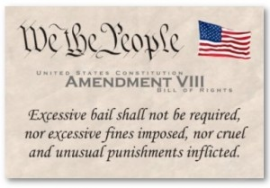 8th amendment about excessive bail
