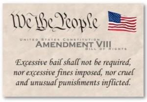 8th amendment about excessive bail