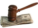 Gavel on cash bail
